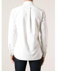 Polo Ralph Lauren - White Slim Fit Shirt for Men - Lyst