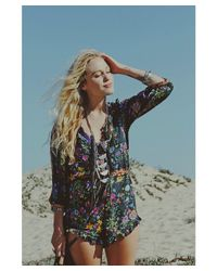 Love Leather | Multicolor Chrome Disco Necklace | Lyst
