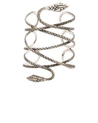 Natalie B. Jewelry - Metallic Viper Cuff - Lyst