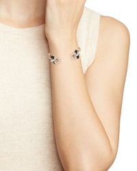 kate spade new york | Multicolor Glossy Petals Cuff | Lyst