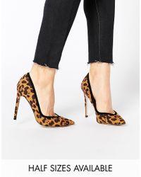 ASOS - Black Pixie Pointed High Heels - Lyst