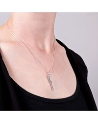 Edge Only   Metallic Screwdriver Pendant In Silver   Lyst