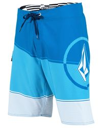 Volcom | Blue Lido Ion Board Shorts for Men | Lyst