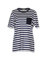 Burberry Brit | Blue T-shirt | Lyst