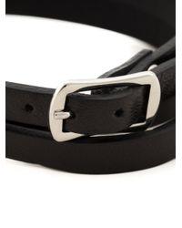 McQ   Black Swallow Triple Wrap Bracelet   Lyst