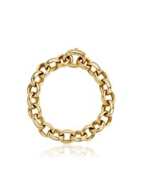 Monica Rich Kosann | Metallic 18k Yellow Gold Rosalind Link Ultra Chain Bracelet | Lyst