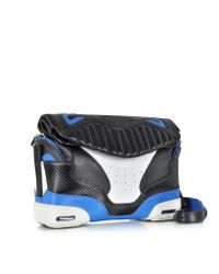 Alexander Wang - Black And Airforce Large Sneaker Sling Bag - Lyst