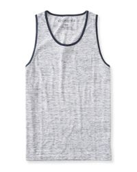 Aéropostale | Gray Solid Heathered Pocket Tank | Lyst