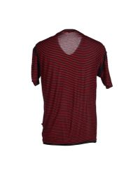 CoSTUME NATIONAL - Red T-shirt for Men - Lyst