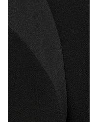 The Row - Black Mona Crepe Dress - Lyst