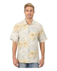 Tommy Bahama - Natural Linen Social S/s for Men - Lyst