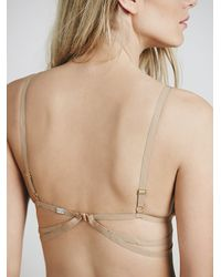 Free People - Natural Skivvies By For Love & Lemons Womens Orchid Bondage Bralette - Lyst