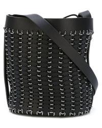 Paco Rabanne - Black Chain-mail Shoulder Bag - Lyst