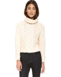 Keepsake - Sweet Surrender Sweater - Sheer Pink - Lyst