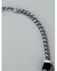 Emanuele Bicocchi - Black Beaded Layered Necklace - Lyst