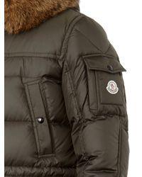 Moncler - Green Affton Fur-Trimmed Parka for Men - Lyst