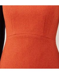 Hobbs - Orange Penny Dress - Lyst