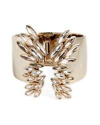 Givenchy - Metallic Large Crystal Cuff - Lyst