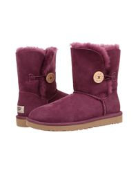UGG | Purple Bailey Button | Lyst