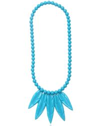 Mariah Rovery | Blue Colar Penas Necklace | Lyst