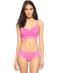 Cosabella | Pink Never Say Never Hottie Low Rise Hotpants - Dragon Fruit | Lyst