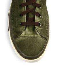 DIESEL - Green Exposure High-Top Sneakers for Men - Lyst
