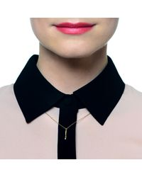 Lulu Frost - Metallic Code 18Kt Exclamation Necklace - Lyst