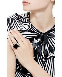 Vhernier - Black Plateau Onyx Diamond Ring - Lyst