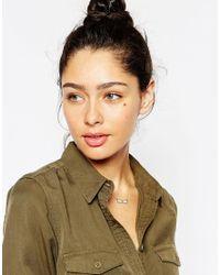 Stella & Bow | Metallic Zanzibar Necklace | Lyst