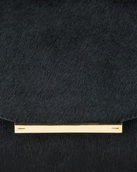 Ted Baker | Black Parallel Bars Exotic Handbag | Lyst