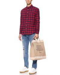 Apolis - Natural Market Bag for Men - Lyst