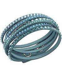 Swarovski - Blue Slake Deluxe Bracelet - Lyst