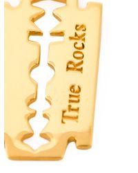 True Rocks - Metallic 'razor Blade' Necklace for Men - Lyst