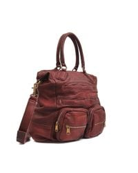 Liebeskind - Red Amira Double Dyed Large Tote - Lyst