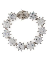 Eddie Borgo | Metallic Crystal Bracelet | Lyst