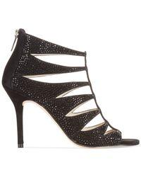 Michael Kors | Black Esther Ankle Strap Court Shoes | Lyst