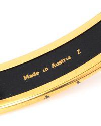 Hermès - Metallic HermãˆS Bangle Bracelet - Lyst