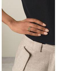AIMEE AIMER | Green 'beija' Ring | Lyst