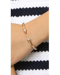Vita Fede | Pink Mini Titan Galaxy Bracelet - Rose Gold/clear | Lyst