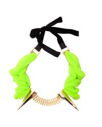 Maryam Keyhani | Green Marie-clothilde Necklace | Lyst