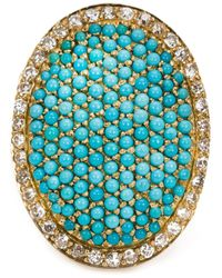 Ileana Makri | Blue 'sleeping Beauty' Ring | Lyst