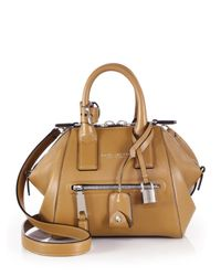 Marc Jacobs - Brown Incognito Mini Smooth Leather Top-handle Bag - Lyst