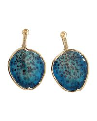 Silvia Furmanovich | Blue Resin Orchid Petal Earrings | Lyst