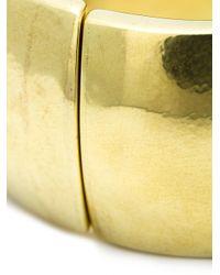 Vaubel - Metallic Wide Hinge Bangle - Lyst