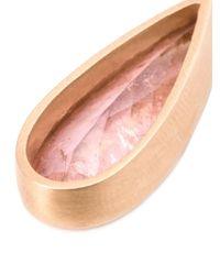 Irene Neuwirth | 18kt Gold And Pink Tourmaline Pendant | Lyst