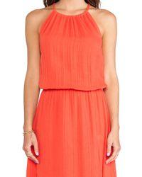 Michael Stars | Red Double Slit Maxi Dress | Lyst