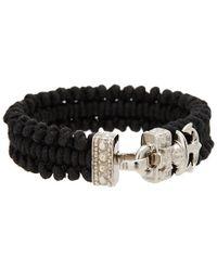 Vivienne Westwood | Black Aristotle Cord Bracelet | Lyst