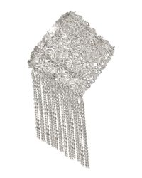 Kendra Scott - Metallic Ivy Fringe Cuff Bracelet - Lyst