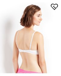 Live Love Dream | White Lld Solid Push-up Bra | Lyst