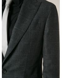 DSquared² - Gray Checked Suit for Men - Lyst